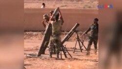 شام میں فوج اور داعش کے جنگجوؤں کے درمیان جنگ