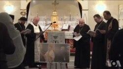 在美叙伊基督徒祈祷家乡战事平息