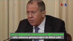 Lavrov Bağdadi'nin Öldürüldüğünü Doğrulayamadı