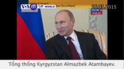 Tổng thống Nga xuất hiện trước công chúng sau nhiều ngày vắng mặt (VOA60)