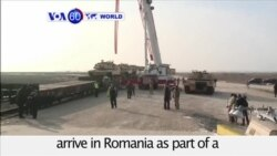 VOA60 World - 500 US Troops Arrive in Romania to Bolster Defense