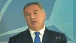 Đukanović u sedištu NATO-a