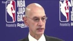 Chủ tịch NBA 'không xin lỗi' sau khi đài TQ cắt phát sóng giải đấu
