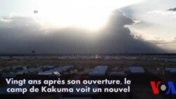 Les réfugiés sud-soudanais affluent vers le camp de Kakuma au Kenya (vidéo)