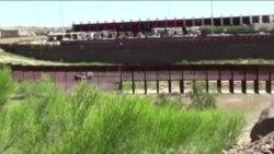 美墨边界毒贩出没处:这里已是围墙高筑