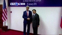 VOA60 America - U.S. Secretary of State John Kerry visited Laos