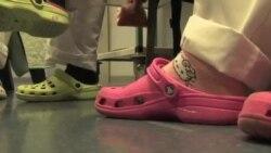 استفاده از کفش هوشمند در مبارزه با عفونتها در بیمارستان