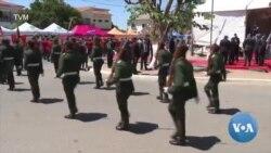 """Filipe Nyusi elogia forças militaes por recuperarem espaços em poder de """"terroristas"""""""
