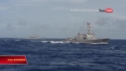 Hải quân Mỹ tái tục tuần tra Biển Đông