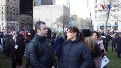 New York'ta Müslümanlara Destek Gösterisinden İzlenimler