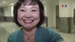 'Em bé napalm' Kim Phúc đang được chữa trị bằng laser
