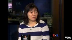 Bà Phạm Đoan Trang, một blogger, tác giả đối lập nổi bật ở Việt Nam.