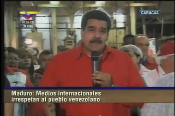 Maduro y Cabello juntos