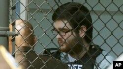 Джеймс Филдс после вынесения приговораt