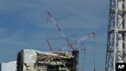 일본 후쿠시마 원전 4호기 모습 (자료사진)