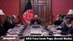 Президент Афганістану Ашраф Гані провів зустріч з посланцем США Залмеєм Халілзадом, 28 січня 2019 року