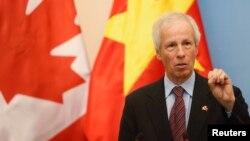 스테판 디옹 캐나다 외무부 장관 (자료사진)