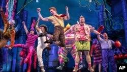 """El musical """"SpongeBob SquarePants"""" es nominado para los premios Tony a lo mejor de Broadway."""