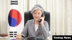 Wasiirka arrimaha dibadda Kuuriyada Koofureed r Kang Kyung-hwa