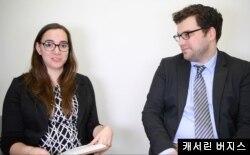 미국 테네시주에서 발행하는 '커머셜 어필(The Commercial Appeal)'의 캐서린 버지스 기자(왼쪽).