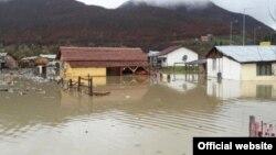 Poplave u Beranama (Foto: Opština Berane)