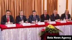 Premijer i ministar unutrašnjih poslova Srbije, Ivica Dačić na skupu o bezbednosti saobraćaja govorio o Dejtonu.