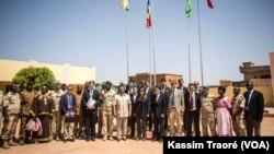 Le conseil de sécurité de l'ONU, lors de sa visite au Mali, le 21 octobre 2017.(Archives)