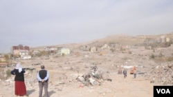 Destruction in Sirnak