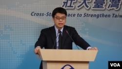 邱垂正: 台湾陆委会副主委邱垂正(11月30日,张佩芝摄)