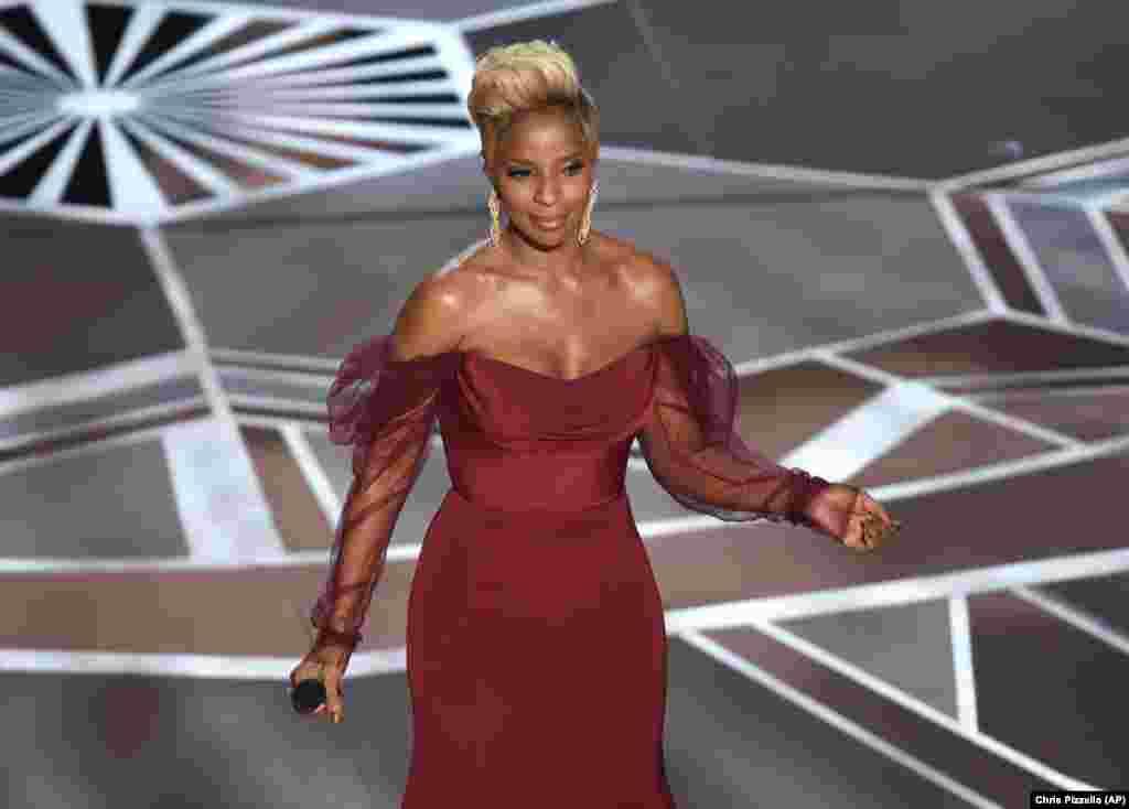 Actuação de Mary J Blige nos Óscares edição 90