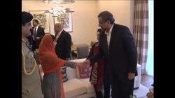 نوبیل امن انعام یافتہ، ملالہ یوسف زئی کی وزیر اعظم سے ملاقات