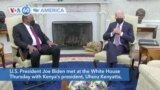 VOA60 Ameerikaa - Biden Hosts Kenyan President at White House