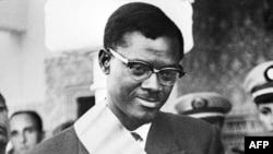 Le Premier Ministre du Congo Patrice Lumumba durant sa visite officielle au Maroc, le 08 août 1960 . / AFP PHOTO