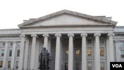美國財政部 (美國之音王南拍攝)