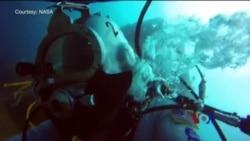 水下宇航训练,助力空间探索