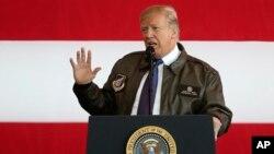 美國總統川普11月5日抵東京開始亞洲之行。