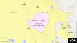 Hawijah, in Kirkuk governate, Iraq