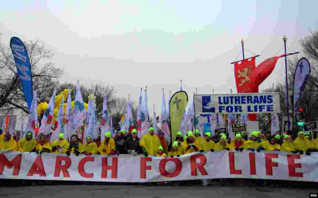 Марш в «В защиту жизни»