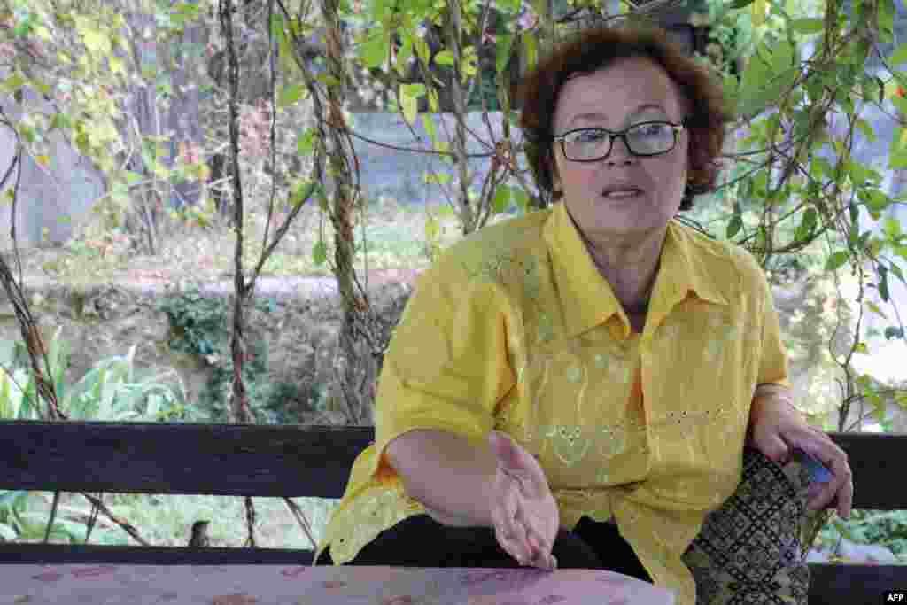 Диляра Сейтвелиева, владелица небольшого отеля в Бахчисарае, которая пережила депортацию и репатриацию