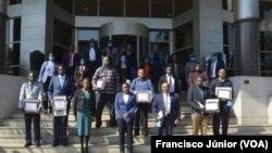 Homenageados pela PGR de Moçambique pelo combate ao tráfico humano