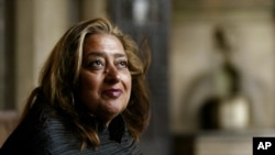 At the time of her death, Hadid was working on stadiums for the 2022 World Cup in Qatar and a new Iraqi parliament building in Baghdad.