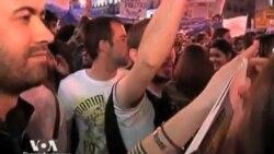 Арабская весна вдохновила демонстрантов в Европе