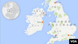 苏格兰地理位置