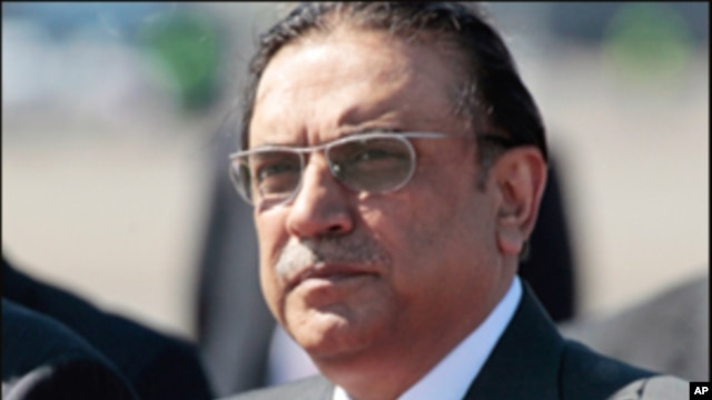 Pakistan's President Asif Ali Zardari, May 12, 2011 (file photo)