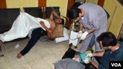 Sirijci navodno povredjeni tokom napada hemijskim oružjem