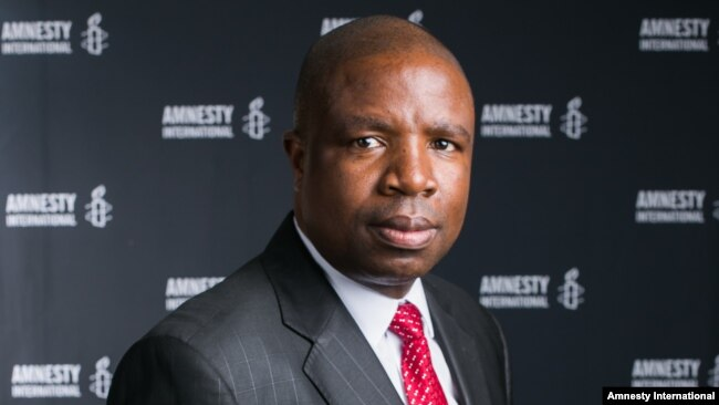 Deprose Muchena, Amnesty International southern Africa director, appealed, Jan. 25, 2019, to President Emmerson Mnangagwa for his government to halt menacing threats toward civil society leaders, activists, opposition leaders and suspected organizers of protests and to ensure that those who violated and continue to violate human rights face justice.