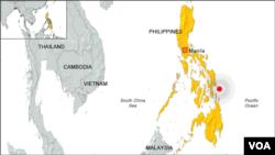 31일 필리핀 지진 발생 지점