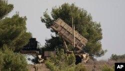 İsrailin Patriot raket müdafiə sistemi