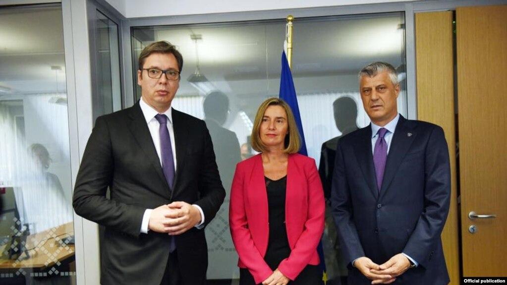Thaçi dhe Vuçiç – takohen shkurt në Sofje