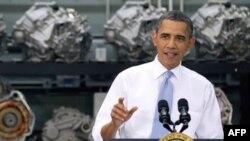 Tổng thống Obama phát biểu trong chuyến thăm trường đại học cộng đồng bang Virginia, 8/6/2011